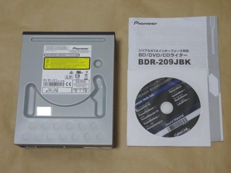 Pioneer BDR-209JBKの製品内容