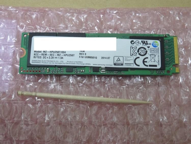 SAMSUNG MZHPU256HCGL-00004本体