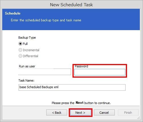 Macrium Reflect Free Editionでスケジュールバックアップを設定する方法(手順)4