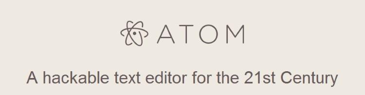 GitHub Atomのロゴ