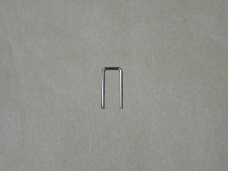 LG 27MU67-Bのスタンドネックにあるロックピン