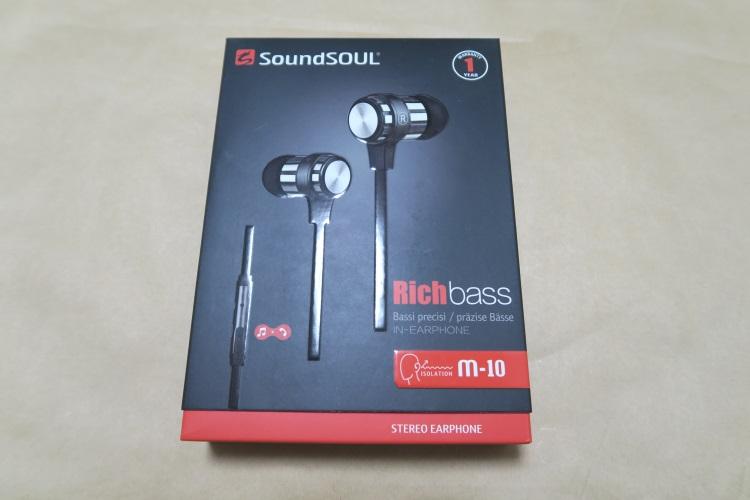 SoundSOUL M10のパッケージ