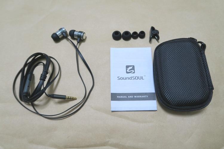 SoundSOUL M10の製品内容