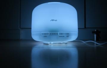 Aiho AD-P1を光らせた様子1