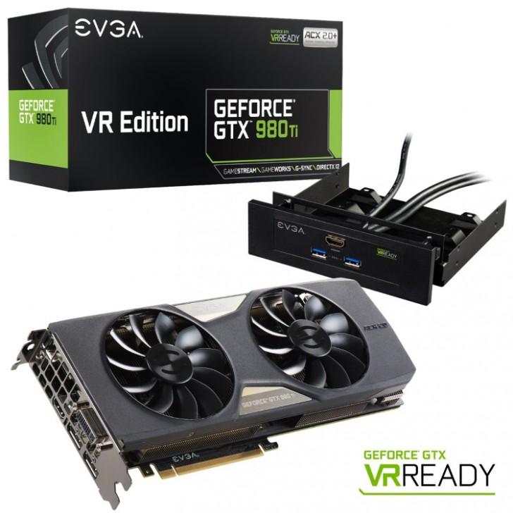 EVGA GeForce GTX 980 Ti VR EDITION GAMING ACX 2.0+ (06G-P4-3996-KR)の本体とアクセサリとパッケージ