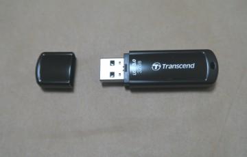 Transcend TS32GJF700E (FFP)本体(キャップを外した様子)