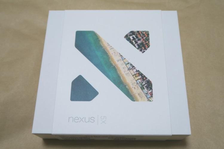 Google Nexus 5X(LG-H791)のパッケージ