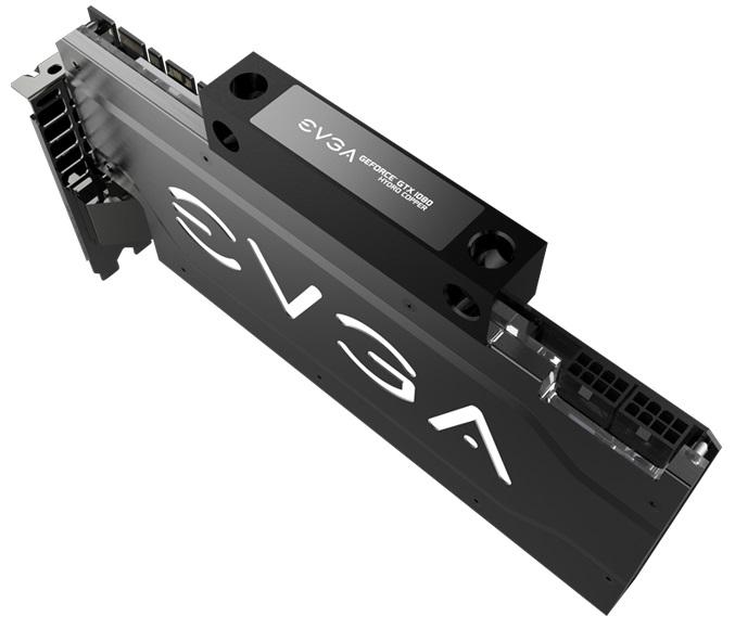 EVGA GeForce GTX 1080 HYRDO COPPER本体