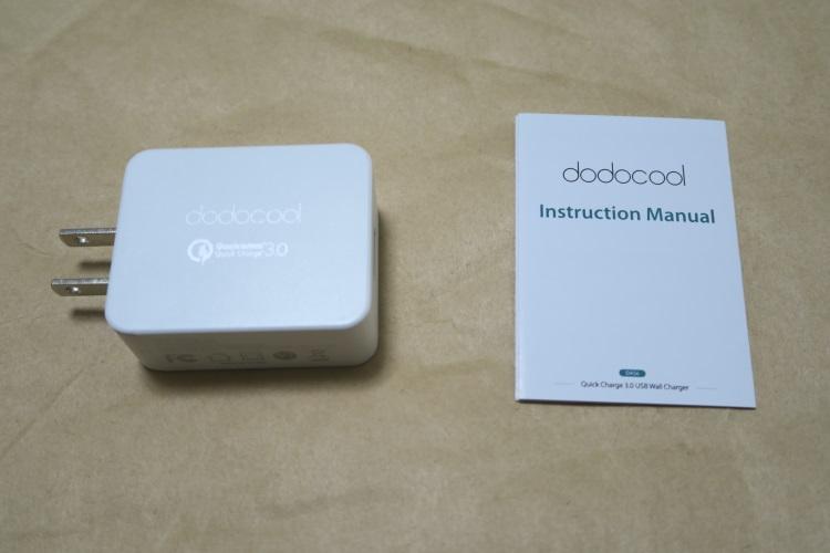 dodocool USB高速充電器(DA56)の商品内容