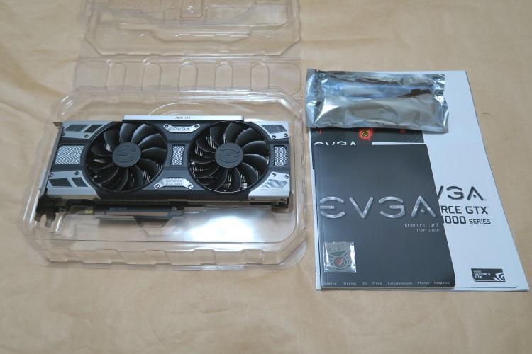 EVGA GeForce GTX 1080 SC GAMING ACX 3.0の製品内容