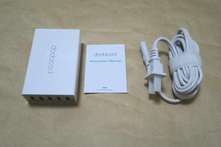 dodocool DA65の製品内容