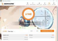 3DMark Time SpyをEVGA GTX 1080 SCで試した結果
