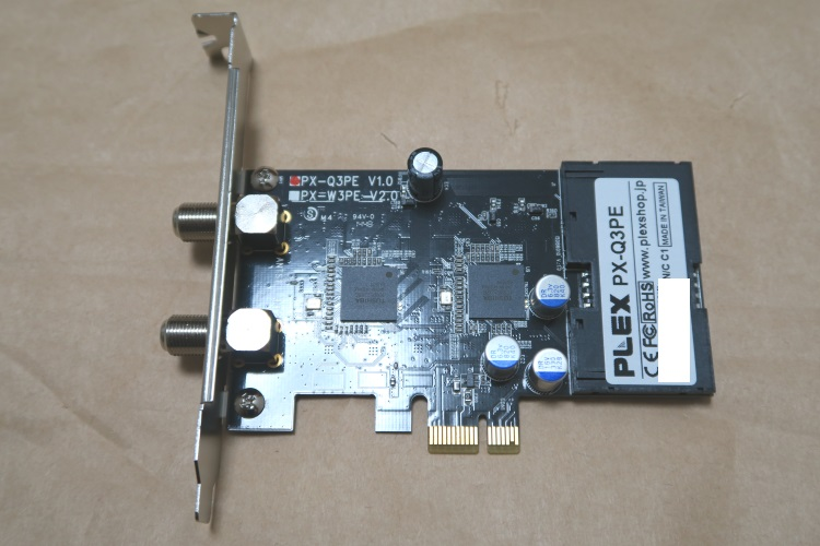 PLEX PX-Q3PE本体表側