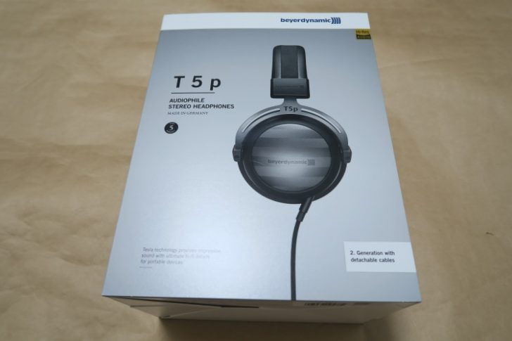 beyerdynamic T5p 2nd Generationのパッケージ