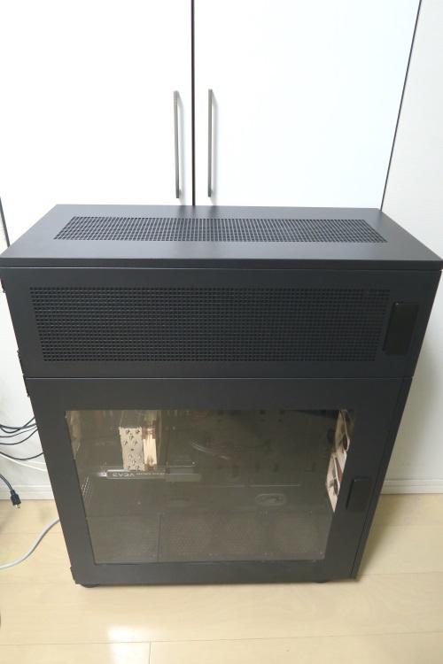 Thermaltake Core P100取り付け後のW100(WP100)