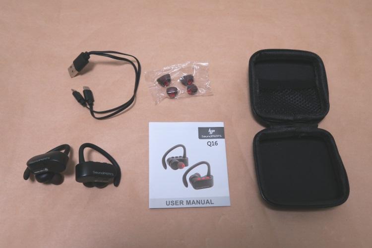 SoundPEATS Q16の製品内容