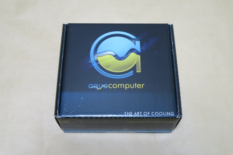 Aquacomputer kryoM.2(空冷版)のパッケージ