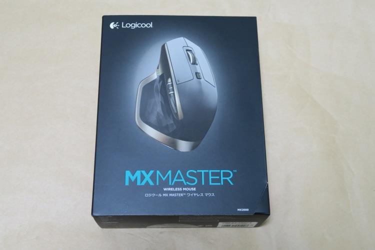 Logicool MX Master MX2000のパッケージ