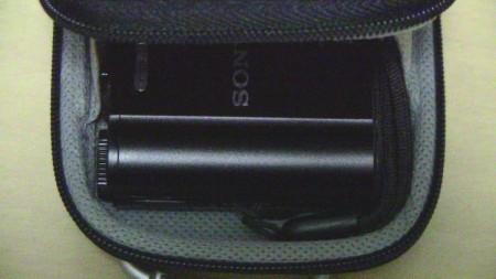 Digio2 DCC-056にSONY DSC-WX300を入れた様子