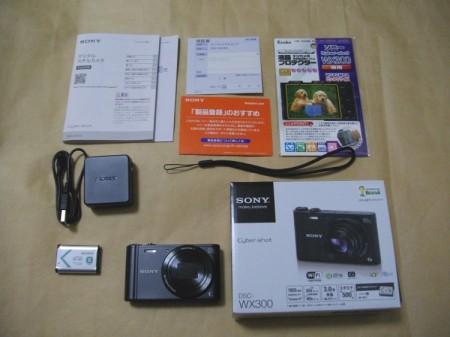 SONY DSC-WX300製品内容