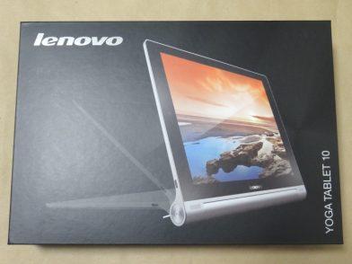 Lenovo YOGA TABLET 10のレビュー