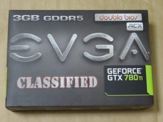 EVGA GeForce GTX 780 Ti Dual Classified w/ EVGA ACX Coolerのパッケージ