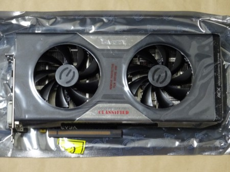 EVGA GeForce GTX 780 Ti Dual Classified w/ EVGA ACX Coolerの保護フィルム