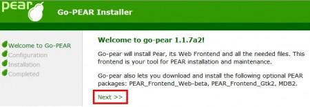 PEARのインストール手順01