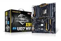 GIGABYTE X99-UD7 WIFI本体とパッケージ