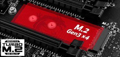 MSI 全てのX99マザーボードにTurbo M.2が搭載されていることを発表