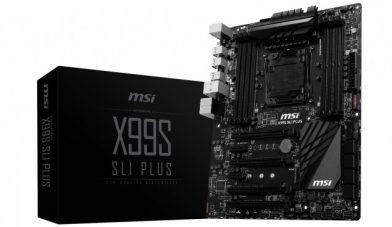 MSI X99S SLI PLUSがリーク