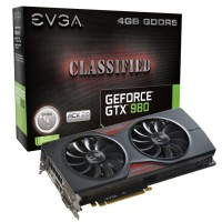 EVGA GeForce GTX 980 Classified ACX 2.0本体とパッケージ