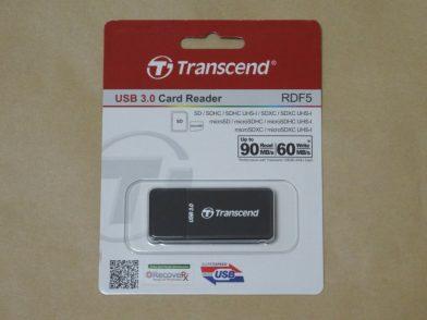 USB3.0対応SDカードリーダー Transcend TS-RDF5Kのレビュー
