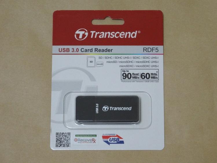 Transcend TS-RDF5Kのパッケージ