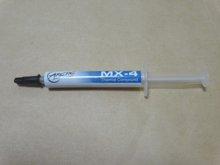 Arctic Cooling MX-4の製品内容