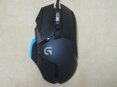 【レビュー】Logicool G502 チューナブル ゲーミングマウス
