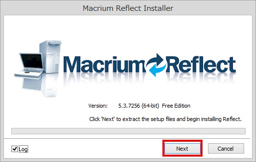 Macrium Reflect Free Editionのインストール手順5