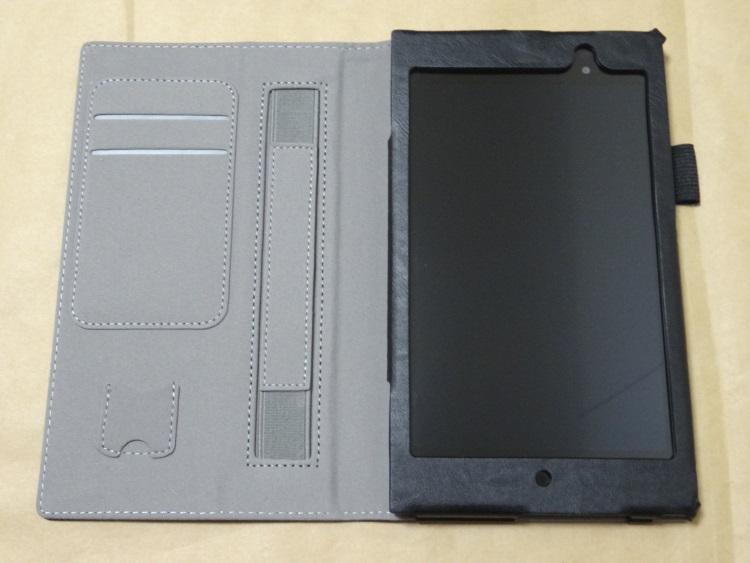 【TOYU】専用保護ケース For ASUS Memo Pad 7 ME572C/ME572CLにASUS ME572CLを収めた様子