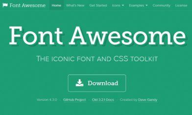 Font Awesomeを使ってSNSボタンを設置しよう