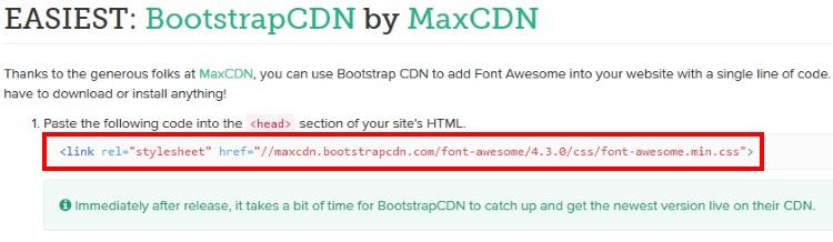 Font Awesomeの使い方1