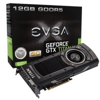 EVGA GeForce GTX TITAN X Superclockedのパッケージと本体