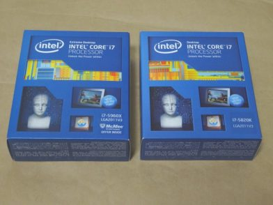 Intel Core i7 5960X,5820K,3930Kの性能を比較してみた