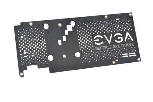 EVGA GTX TITAN X Backplate