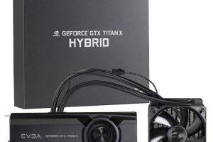 EVGA GeForce GTX TITAN X HYBRIDのパッケージと本体