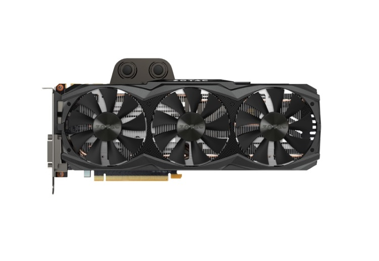 ZOTAC GeForce GTX TITAN X ArcticStorm本体(表側)