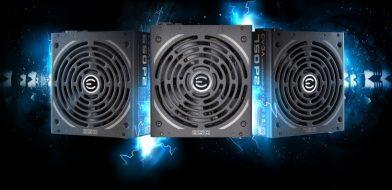 EVGA 80PLUS Platinum認証電源 3製品を公開
