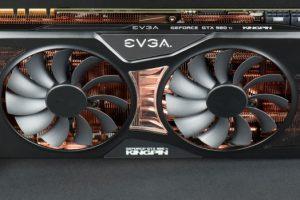 EVGA GTX 980 Ti KINGPIN本体(表側)