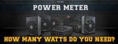 PC電源容量計算サイト EVGA POWER METERが公開