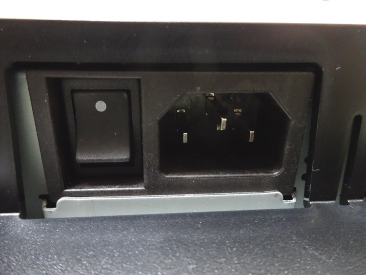 LG 27MU67-Bの主電源部分