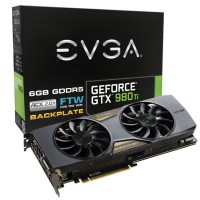 EVGA GeForce GTX 980 Ti FTW本体とパッケージ